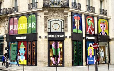 fc4684fca86c8b Pull&Bear : un premier flagship parisien aux accents californiens -  Actualité : Distribution (#829529)