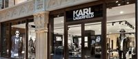 Karl Lagerfeld eröffnet in Hamburg