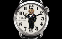 Ralph Lauren launches Polo Bear watch collection featuring its famous mascot