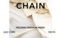 La firma argentina de moda sostenible Chain llega a la Helsinki Fashion Week