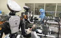 Shiseido trials humanoid robots in assembly lines 'in industry first'