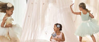 Pottery Barn Kids x Monique Lhuillier baby and kids launches