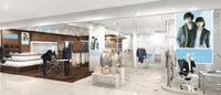 青山商事の商業施設向け新業態「ネクストブルー」スーツ事業第三の柱に