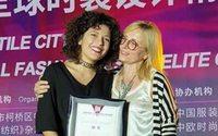 L'italiana Chiara Rossi sul podio della China Textile Cup