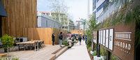 代官山の人の流れを変える?新商業空間「ログロード代官山」公開 東横線跡地にフレッド・シーガルなどオープン