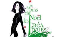 Les Sapins de Noël des Créateurs s'exposent au théâtre des Champs-Elysées