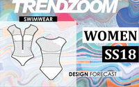 Trendzoom: Design Forecast Women Swimwear S/S 18