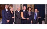 A Gildo Zegna il Premio Leonardo