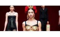 Неделя моды в Милане: показ Dolce & Gabbana