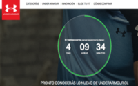 Under Armour lancia l'e-commerce in Cile
