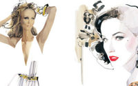 David Downton opens Icon Series exhibit in LA