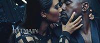 Kim Kardashian et Kanye West, visages de la campagne Balmain Homme