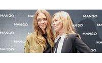 Кейт Мосс и Кара Делевинь презентовали кампанию #somethingincommon от Mango на Миланской недели моды