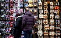 Euro zone February retail sales muted as non-food purchases cut