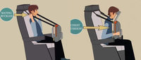 """波音最新专利:""""抱抱椅"""" 让每个人都能在飞机上睡个好觉"""