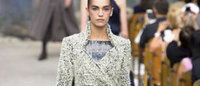 Chanel casts off crumbling old world at Paris fashion