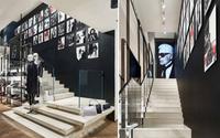 Karl Lagerfeld präsentiert neues Ladenbaukonzept in München