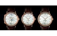 SIHH 2015: A.Lange & Söhne refreshes three of its Saxonia watches