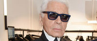 Karl Lagerfeld opens London flagship