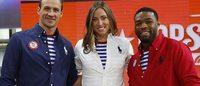 The US Olympic Committee debuts Ralph Lauren designed uniforms