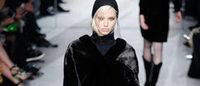 皮草,褶裥:伦敦时装周潮流盘点