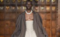 London Fashion Week : entrée en matière androgyne et historique avec Edward Crutchley
