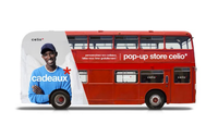 Celio prend la route à Paris avec un bus pop-up store