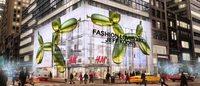 H&M plant New Yorker Store-Eröffnung zusammen mit Jeff Koons