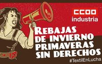 CCOO convoca movilizaciones durante la campaña de rebajas para exigir un salario mínimo de 1000 euros al mes