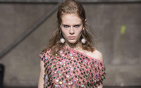 Marni's new designer offers up the bubble wrap look