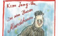 Karl Lagerfeld deride Kim Jong-un come Barone di Münchhausen nel suo ultimo schizzo