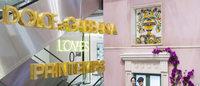 Dolce & Gabbana à l'honneur au Printemps