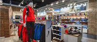 Scandinavian Amer Sports positions two brands in the same store