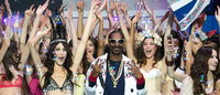 Snoop Dogg estreia nas passarelas de Paris