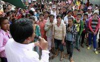 Kambodscha: Textilarbeiter streiken für mehr Lohn