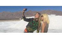 Donatella Versace kendisine ait Instagram hesabıyla karşınızda