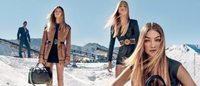 Gigi Hadid musa da campanha Versace primavera-verão 2017