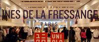 """Uniqlo/Ines de la Fressange: ruée de Japonaises fans de la """"Parisienne chic"""" sur la collection"""