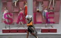 UK retail sales dip in July on fashion slump