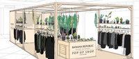 バナナ・リパブリック 植物とファッションを提案する期間限定店開催