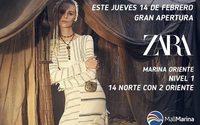 Zara celebra en Chile su nueva apertura en el complejo Mall Marina