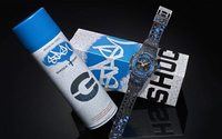 Casio G collaborates with NYC artist Stash on limited-edition watch