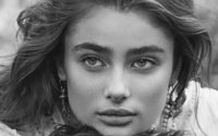 Taylor Hill and her boyfriend are unveiled as the new faces of Ralph Lauren's 'Romance'