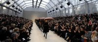 London Fashion Week runs last leg in Great British relay