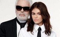 Karl Lagerfeld présente le fruit de sa collaboration avec Kaia Gerber