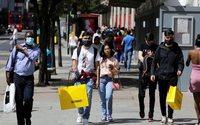 Britischer Einzelhandel holt Corona-Einbruch auf