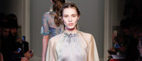 Romance blooms at Luisa Beccaria Milan fashion show