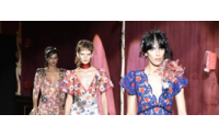 Marc Jacobs crown NY fashion with cinematic display