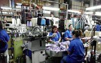 Cae la producción textil de Colombia en mayo