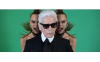 Nova campanha: Karl Lagerfeld e Melissa